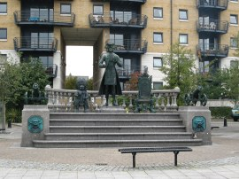 Peter the Great Statue, Deptford