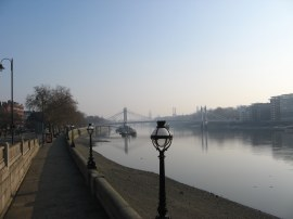Chelsea Embankment, nr Battersea Bridge