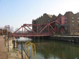 Swing Bridge Shadwell Basin