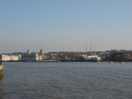View across to Greenwich