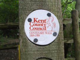 Centenary Walk Way Marker