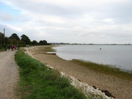 Approaching Emsworth
