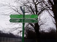 Fingerpost, Eltham Park South