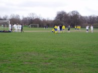 Sunday Football, Tooting Bec Common