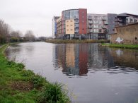 River Lea by the Hertford Union Canal