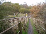 Railway lines nr Clay Hill