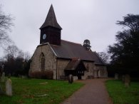 Little Berkhamsted church