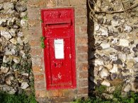 An old letterbox
