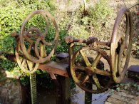 Sluice gate, Goldings Canal