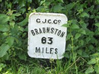 Miles to Braunston