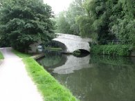 Canal bridge nr Apsley