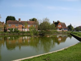 Matfield village pond