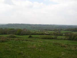 View back towards Brenchley