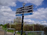 Loop fingerpost