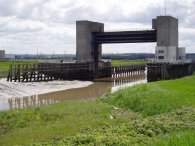 Dartford Creek Flood Barrier