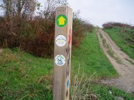 London Loop Way marker