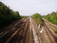 Rail Lines, nr Petts Wood