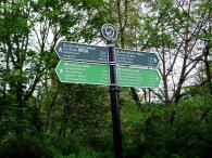 Lea Valley walk signpost