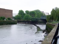 River Lea, Three Mills Island