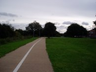 Lea Valley path, Luton