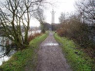 Lea Valley Walk path nr Cheshunt