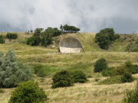Acoustic mirror nr Hythe