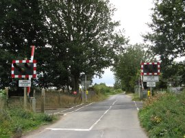 Level Crossing nr Warehorne