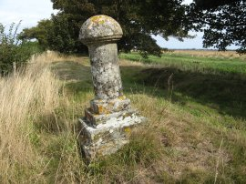 Kent - Sussex County Boundary Post