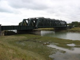 Rail Bridge over the River Rother