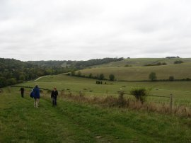 View back to Nore Hill
