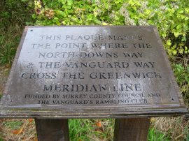 The Greenwich Meridian Marker