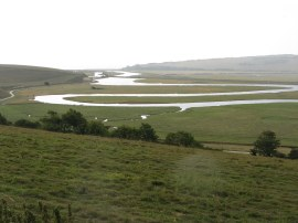Meanders of the Cuckmere River