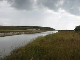 Cuckmere River at Exceat
