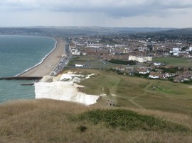 View over Seaford