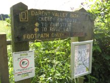 Darent Valley Path sign