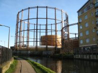 Gasholders, Bethnal Green