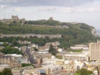 View over Dover towards the Castle