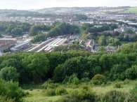 View over Dover Station