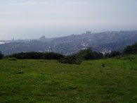 View over Folkestone