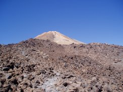 View towards the summit of Teide