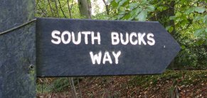 South Bucks Way Waymarker