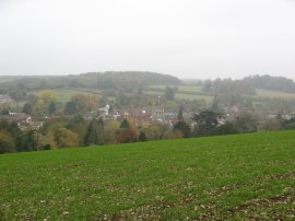 View over Amersham Old Town