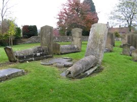 Gravestones, St Mary's Church, Amersham