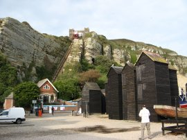 East Hill Funicular, Hastings