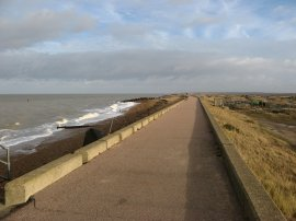 Northern Sea Wall, Reculver