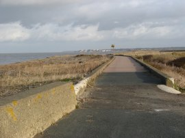 Northern Sea Wall, nr Reculver