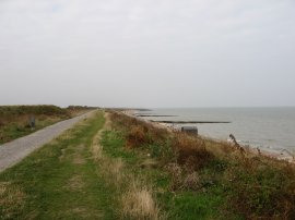 Path above Minnis Bay