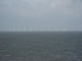 Offshore Windfarm nr Herne Bay