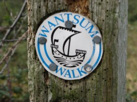 Wantsum Walk Waymark