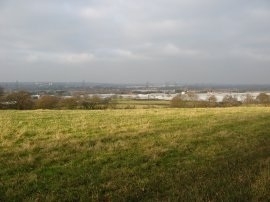 View across the Lea Valley